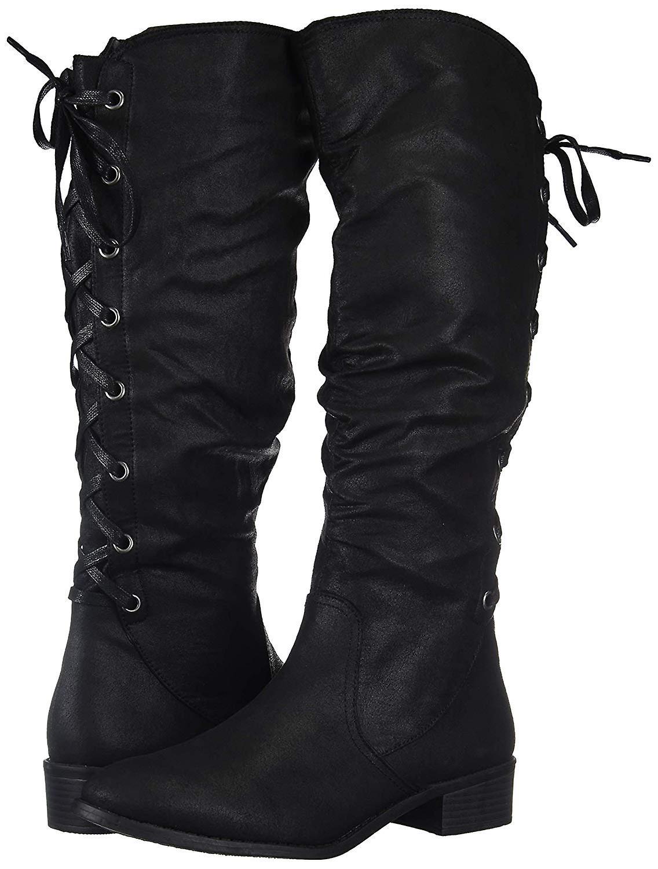 Rampage kobiet Insola Lace-up kolana High Boot 9JyrE