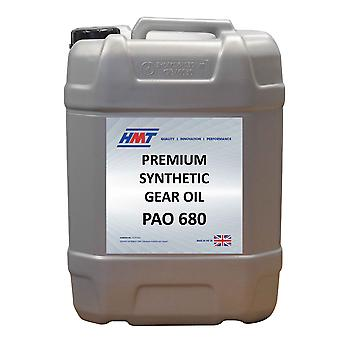 HMT HMTG150 Premium Synthetic Industrial Gear Oil PAO 680 - 25 Litre Plastic