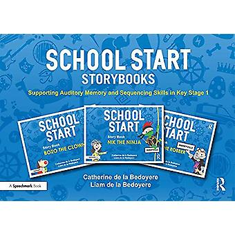 School Start Storybooks - Supporting Auditory Memory and Sequencing Sk