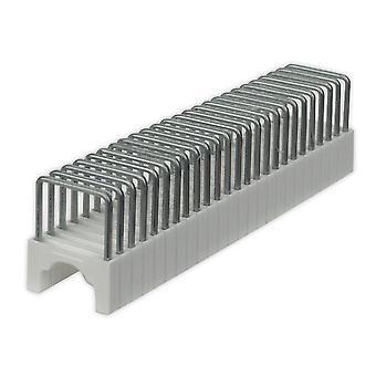 Sealey Ct8125S03 hæfteklammer 9 Mm runde 7,5 X 12,5 Mm flad For Ct8125 Pack af 200