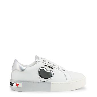 Woman leather sneakers shoes lm57111