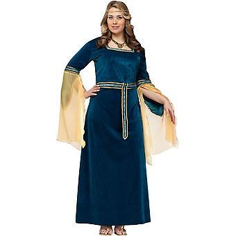 Prinsessan av renässansen kostym