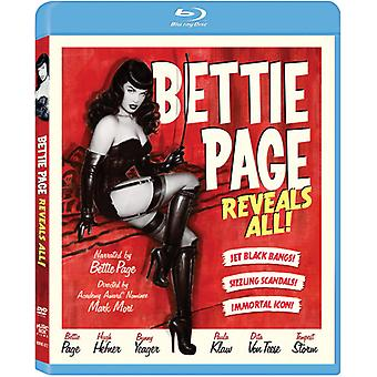 Bettie Page Reveals All [BLU-RAY] USA import