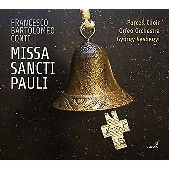 Conti / Purcell Choir / Orfeo Orchestra - Missa Sancti Pauli [CD] USA import