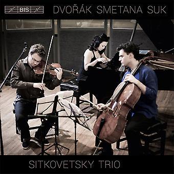 Smetana/Dvorak/Suk - importación de Estados Unidos Sitkovetsky Piano Trío juega Dvorak Smetana y Suk [SACD]