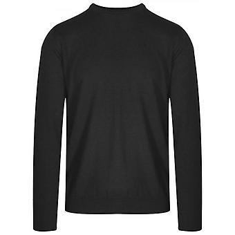 Pull en laine tricotée gris Lagerfeld