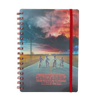 Officiel Stranger Things Mind Flayer 3D Notebook / Journal