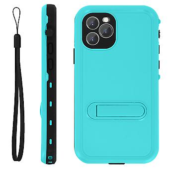 Protective Case iPhone 11 Pro Bi-material Waterproof 2m with Blue video support