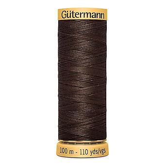 Gutermann 100% Natural Cotton Thread 100m Código de Cor da Mão e da Máquina - 1912