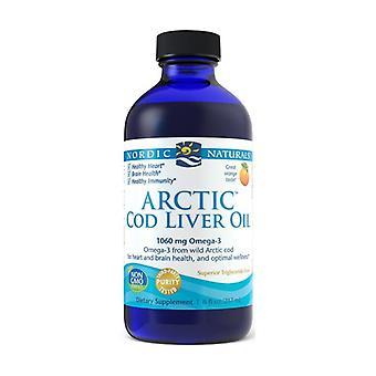 Arctische levertraan 1060 mg Citroen 237 ml