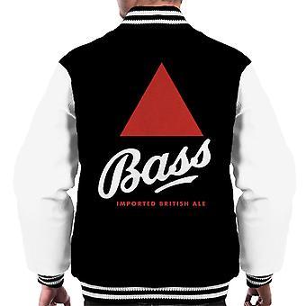 Bass Imported British Ale Miesten&s Varsity Takki