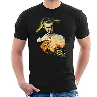 Hammer Horror Filme Dracula Biss Dont Dare sehen es allein Männer's T-Shirt