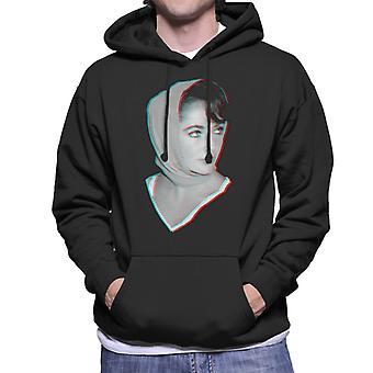 Elizabeth Taylor 1959 3D Effect Men's Hooded Sweatshirt