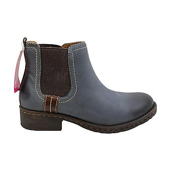 Comfortiva Womens Salara Leather Round Toe Ankle Chelsea Boots