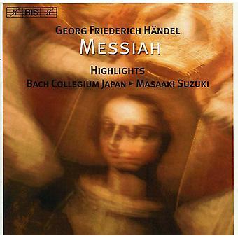 Georg Friedrich Händel - importación de Estados Unidos destaca Messian [CD]
