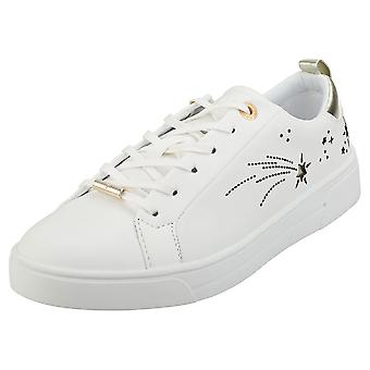 Ted Baker Sanaa Womens Fashion Trainers in White