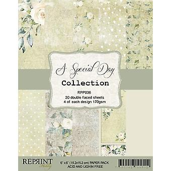 Reprint A Special Day 6x6 Inch Paper Pack