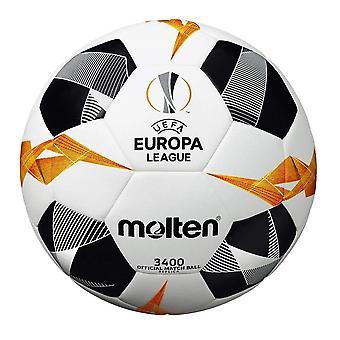 Gesmolten UEFA Europa League 2019/20 Officieel 3400 Replica Voetbal Wit/Zwart