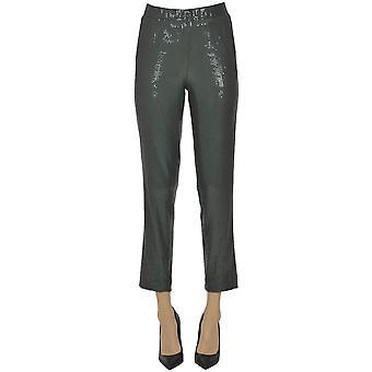 Kiltie Ezgl187027 Women's Grey Polyester Pants