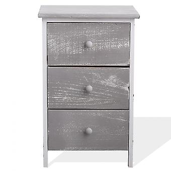 Rebecca Muebles Confort Cajón 3 Shabby Grey Drawers 56x35x30