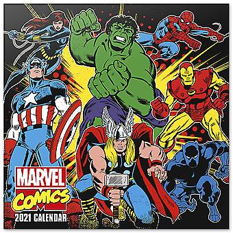 Marvel Comics Calendar 2021 Official Calendar 2021, 12 months, original English version.