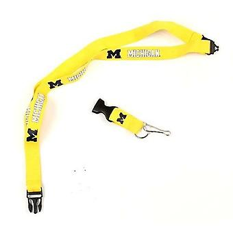 Michigan Wolverines NCAA Lanyard