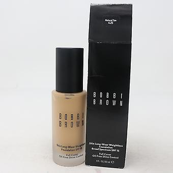 Bobbi Brown Skin Long-Wear Weightless Foundation Spf 15  1.0oz/30ml New