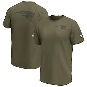 New England Patriots NFL Fan Shirt Iconic army green