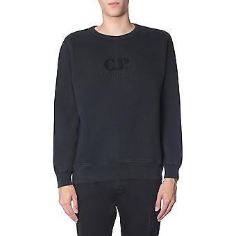 C.p. Company 07cmss250a005594o999 Männer's schwarze Baumwolle Sweatshirt