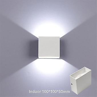 12w Ajustable Up And Down Wall Light Aluminum Exterior For Outdoor  Garden Porch Bedroom Home