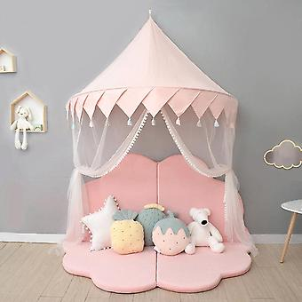 Kids Play Tent Castle Play House Indoor Baby Girls Net Bed