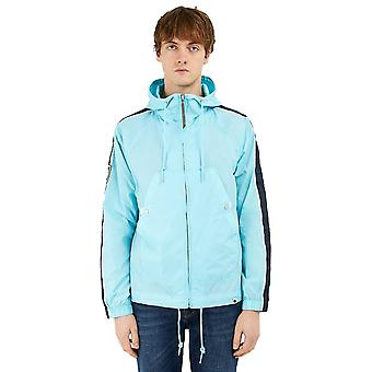 Pretty Green Zip Up Hooded Jacket - Blue