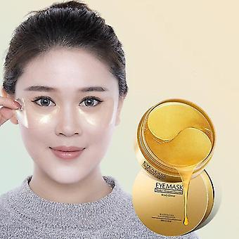 Anti Puffiness Dark Circles Eye Mask 60pcs - Anti Aging Rid Crystal