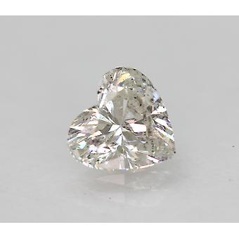 Zertifiziert 0.70 Karat G VS2 Heart Enhanced Natural Loose Diamond 6.19x5.84mm 2VG