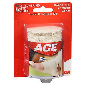 Ace Self-Adhering Elastic Bandage, 3 inches 1 each