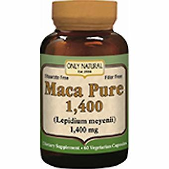 Only Natural Maca Pure, 1,400 mg, 60 Caps