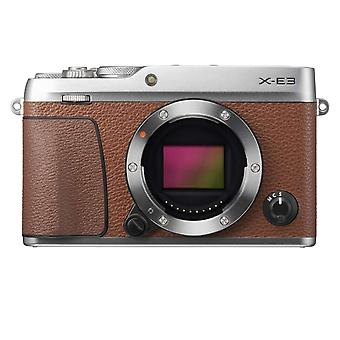 FUJIFILM X-E3 Brown + XC 15-45MM F3.5-5.6 OIS PZ Prata