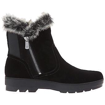 Espírito fácil Womens Adabelle camurça rodada tempo frio do dedo do pé tornozelo botas