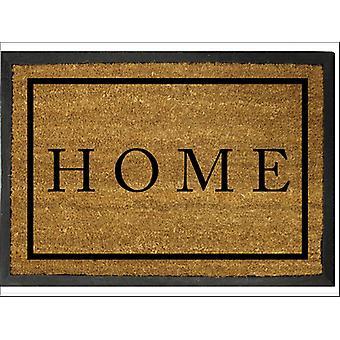 Home Label Barnard Coir Door Mat 40 x 60cm P00014351