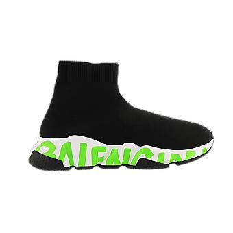 Balenciaga Fabric Sneaker Rubber Sole Black 605942W05GY1935 shoe
