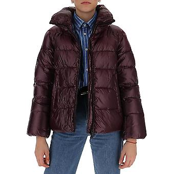 Aggiungi 2awe01s2572 Women's Burgundy Nylon Down Jacket