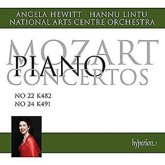 Mozart / Hewitt - Piano Ctos 22 & 24 [CD] USA import