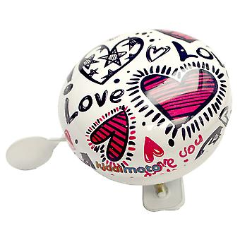 Kiddimoto Cycle Bell Love Small