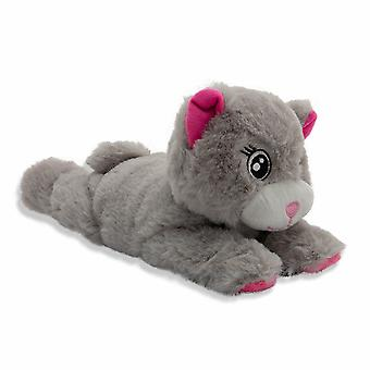 PMS Hugglers Plush Snap Band 28cm, Cute Animal Snap Bands - Cat