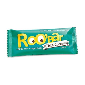 100% raw and coconut bar 30 g