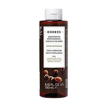 Post Coloration Shampoo - Argan 250 ml