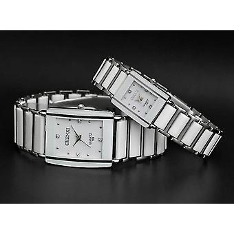 Montres en quartz en céramique simulées, horloge de poignet de luxe