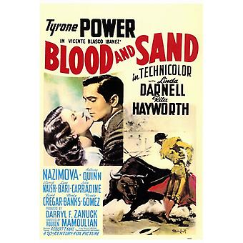 Blood and Sand Movie Poster Print (27 x 40)