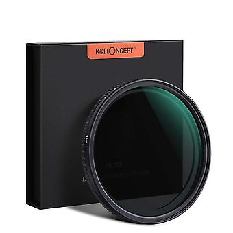 Hd Optical Glass- Neutral Density Variable Filter For Canon/nikon/sony