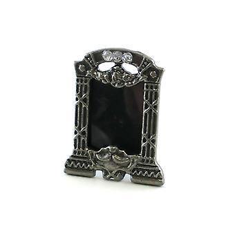 Casa de muñecas accesorio miniatura ornamento Marcasite foto marco de la imagen
